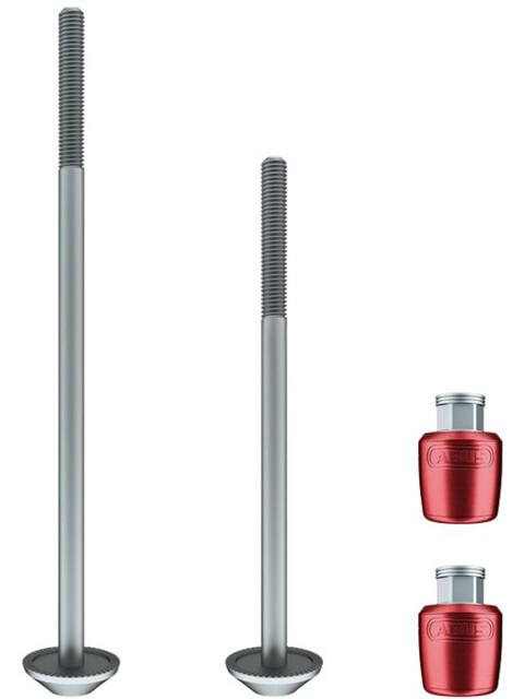 ABUS NutFix M5 2x Axle rød